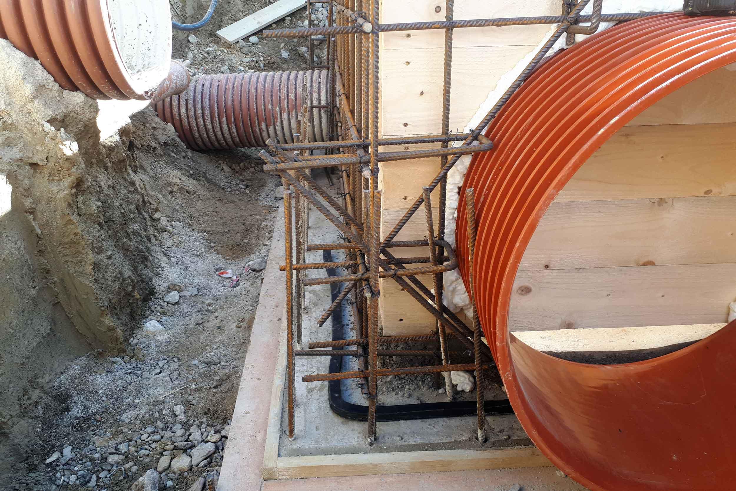 Budovanie kanalizačných stavieb